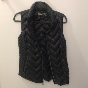 Michael Kors packable down fill vest